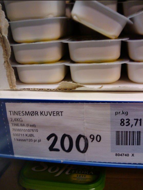 Smørprisen