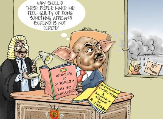 Burundi Cartoon