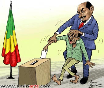 Press Release The Ethiopian Sham Election Serves Only The
