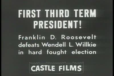 stock-footage--s-newsreel-story-roosevelt-wins-third-term