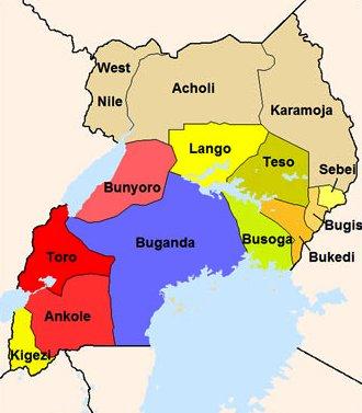 Uganda regions