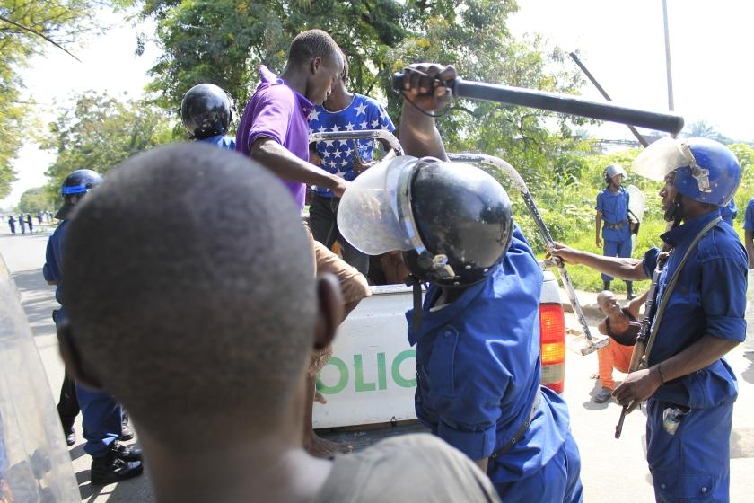 Burundi Report Police