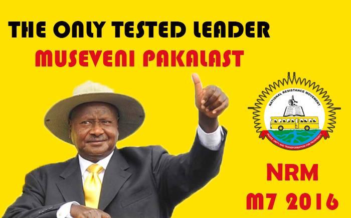 MuseveniNRM2016Election