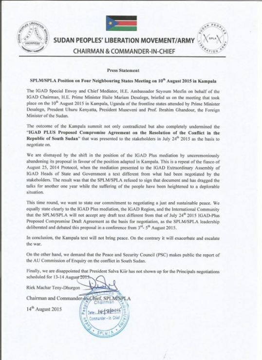 splm-io-press-statement-on-kampala-proposal