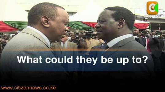 TV Kenyatta Odinga