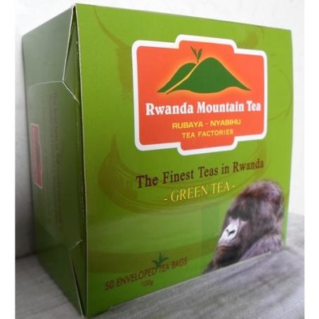 1361404042_RWANDA MOUNTAIN GREEN TEA.WGT.100g(50 tea bags.Price-US$3.1(Rwf.2000)