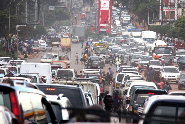 JinjaRoad Roundabout Kampala