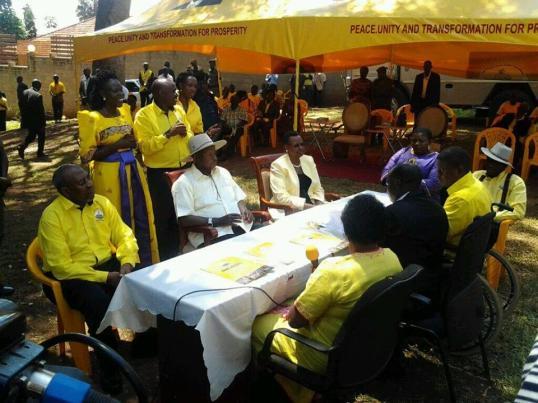 Museveni Odoi EC Flag Bearer P1