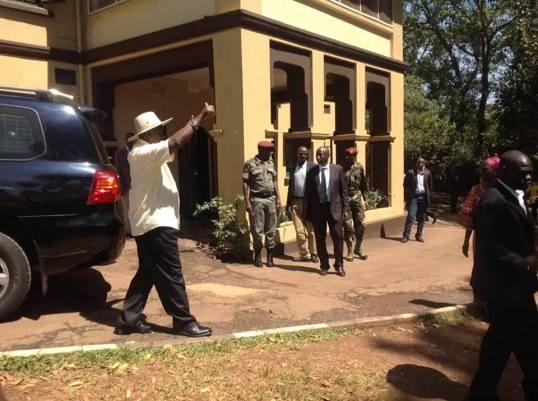 Museveni Odoi EC Flag Bearer P2