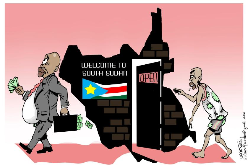 South Sudan Cartoon