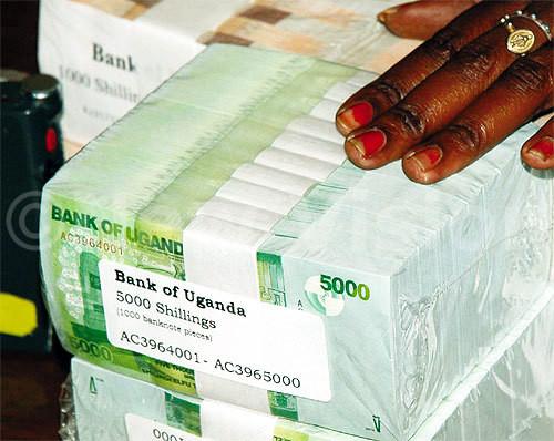 Bank notes Uganda