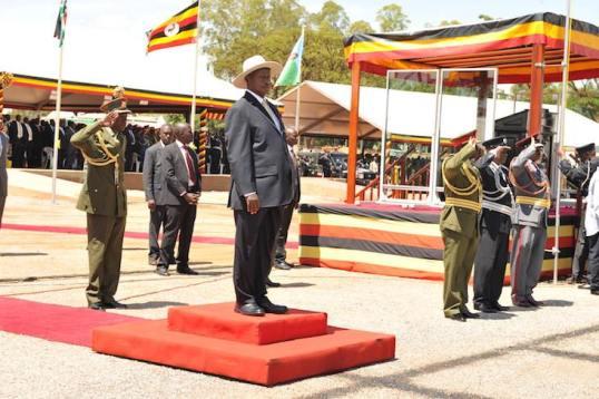 Museveni Gulu 091015