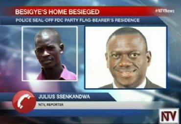 NTV Besigye 141015