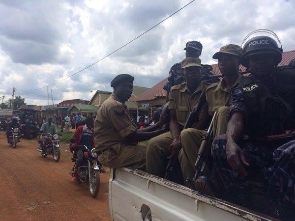 Police in Bugiri 21.10.15