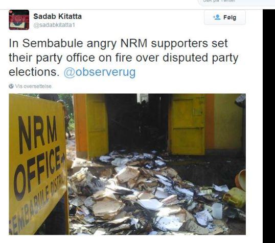 Sembabula NRM Office