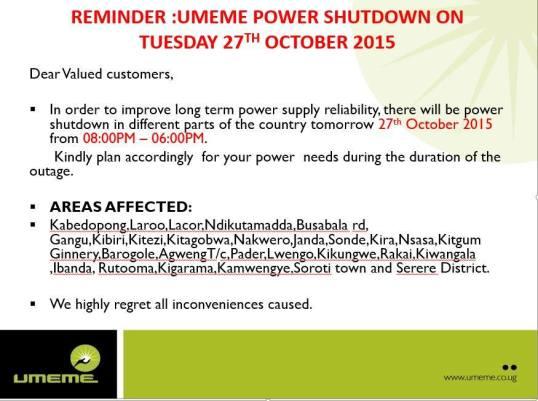 UMEME Press Release