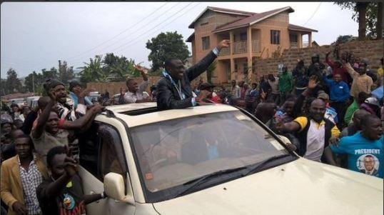 Besigye 091115 Rukungiri