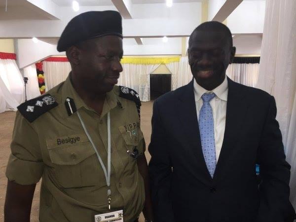 Besigye and Besigye at Namboole 041115