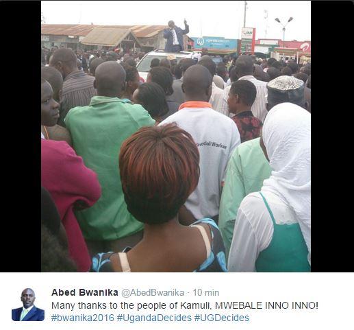 Bwanika 091115 Kamuli
