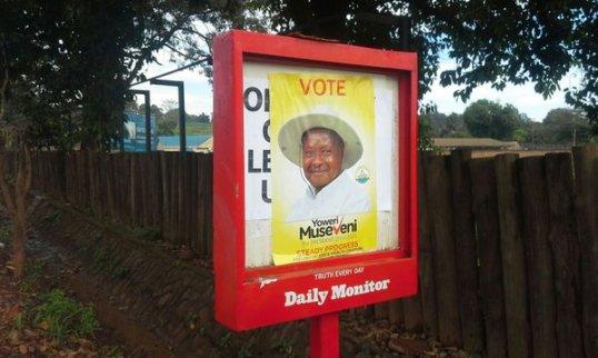 Daily Monitor Museveni 031115