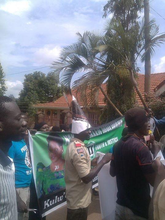 DP Camp Kampala Erias Lukwago Support 30.11.15