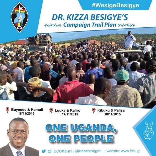 Dr. Kizza Besigye 17.11.15