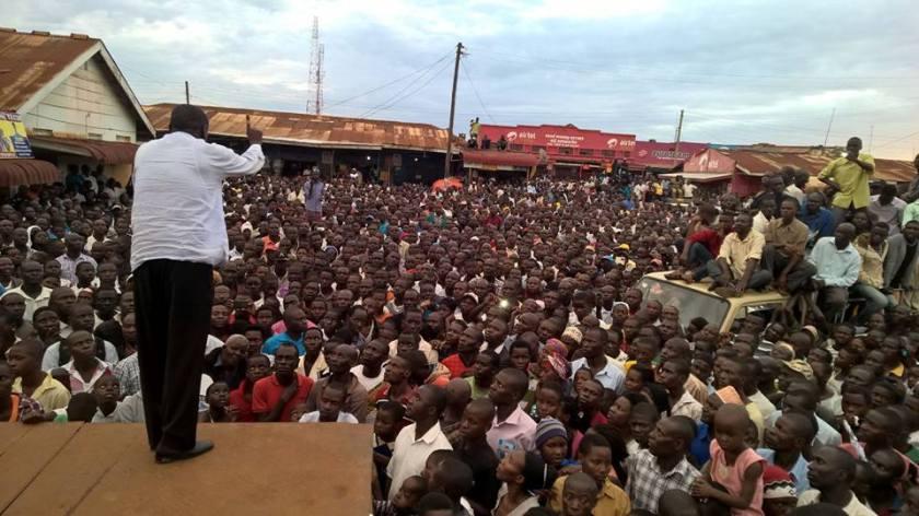 FDC Besigye 16.11.15 Kamuli