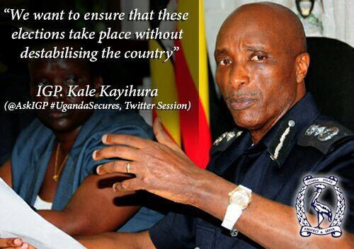 IGP Kale Kayihura Quote