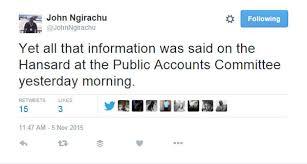 John Ngirachu 121115