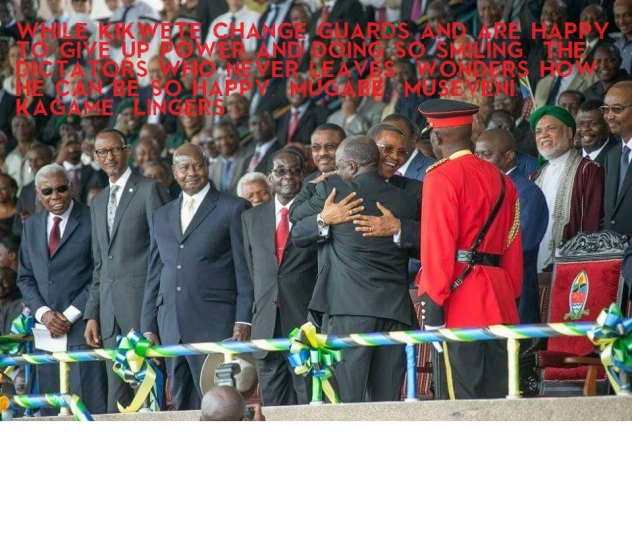 Linger at Inaguaration in Tanzania