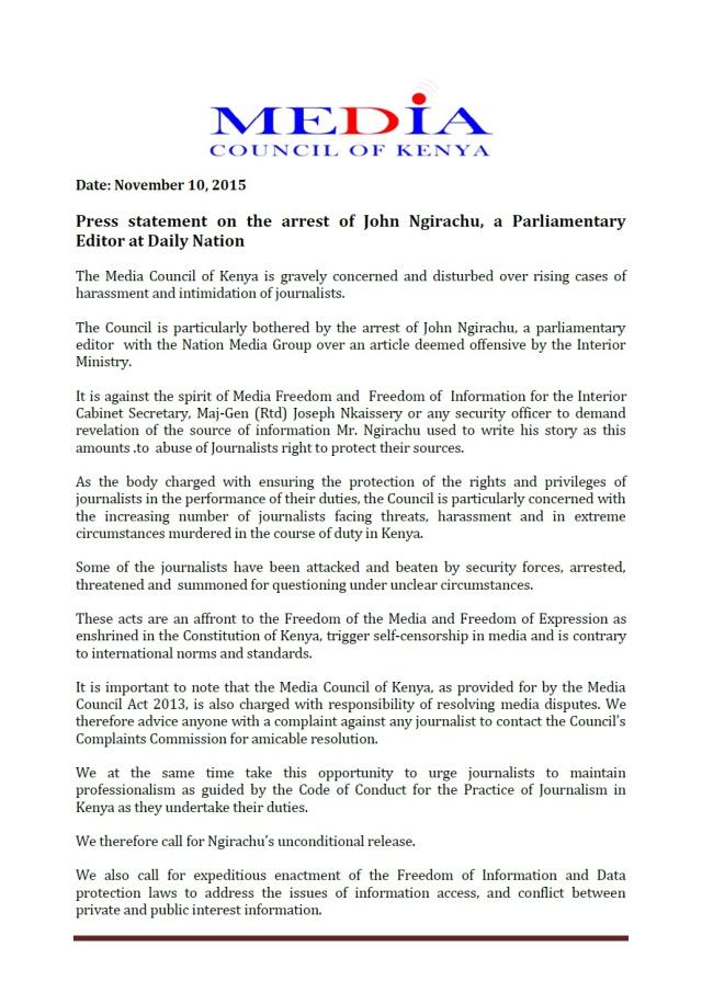 Media Kenya P1