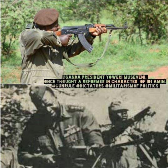 Museveni Idi Amin