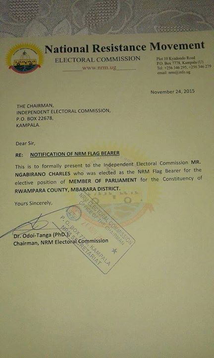 NRM EC November P2
