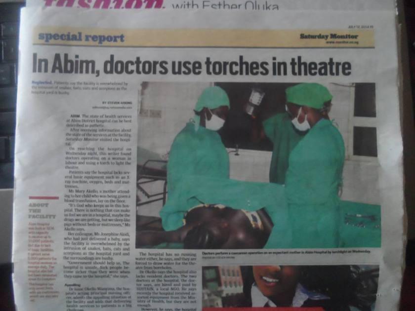 Abim Hospital 2014 P3