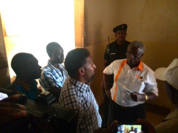 Amama Mbabazi Masindi Police Station 27.12.15