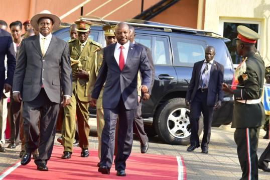 Burundi-Museveni-Nkurunziza
