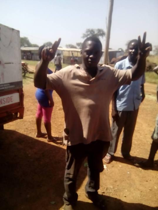 Elagu Border Post Arrests FDC Supporter 24.12.15 P3
