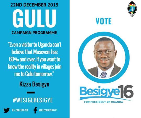 FDC Campaign 22.12.15 Gulu