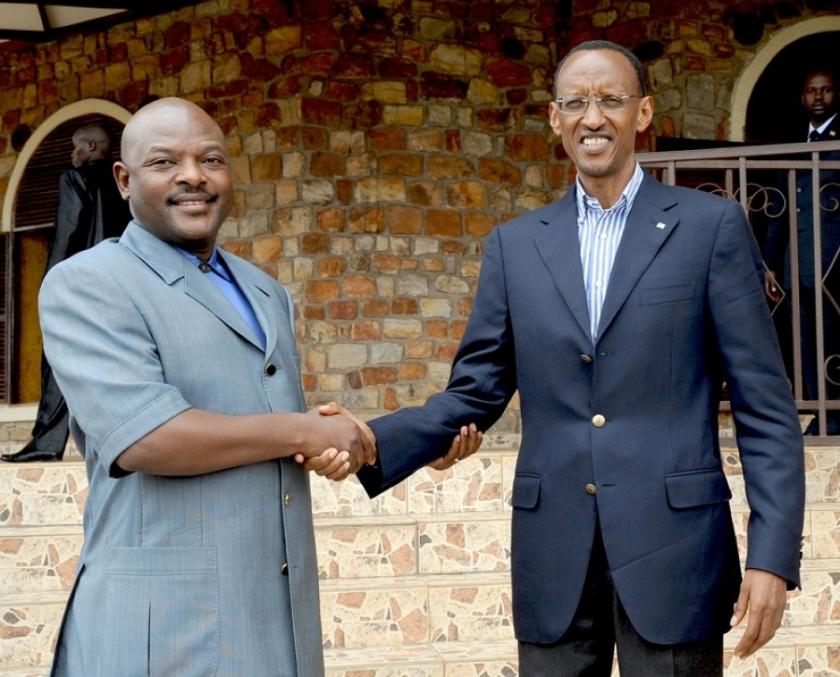 Kagame Nkurunziza 2011