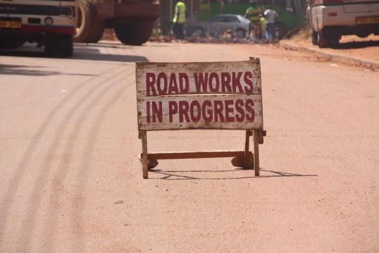 kampala road work