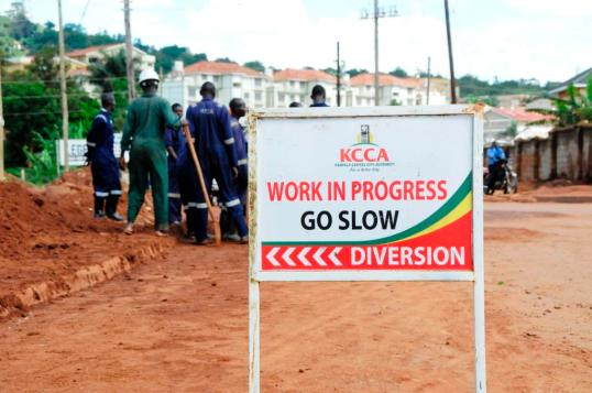 KCCA at work