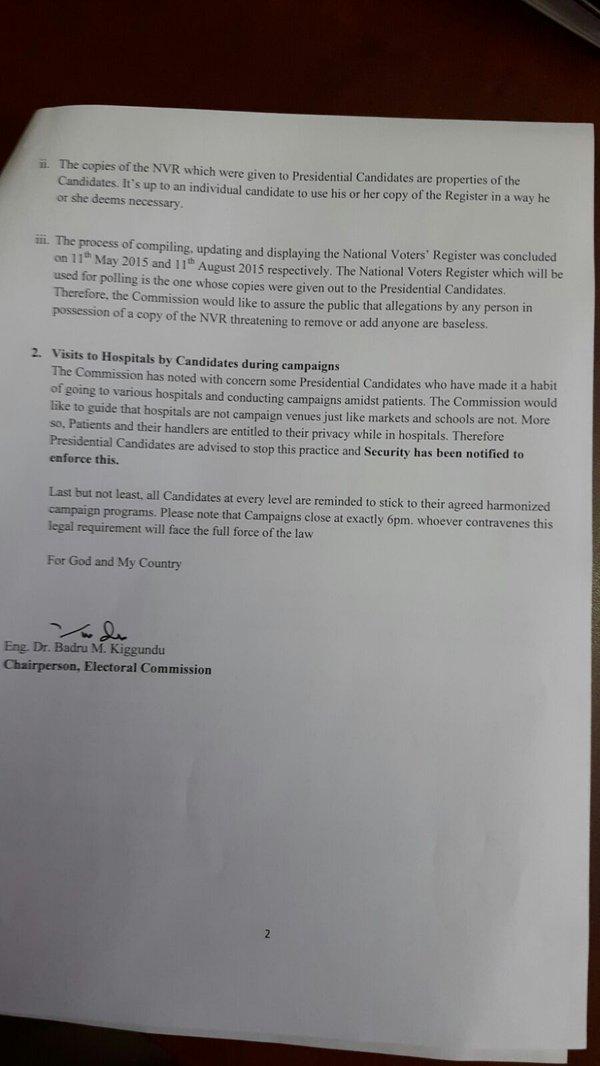 NVR Public Domain Uganda EC P2 30.12.2015