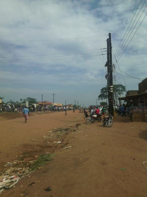 Road-Block from Boda Boda Go-Forward 27.12.15
