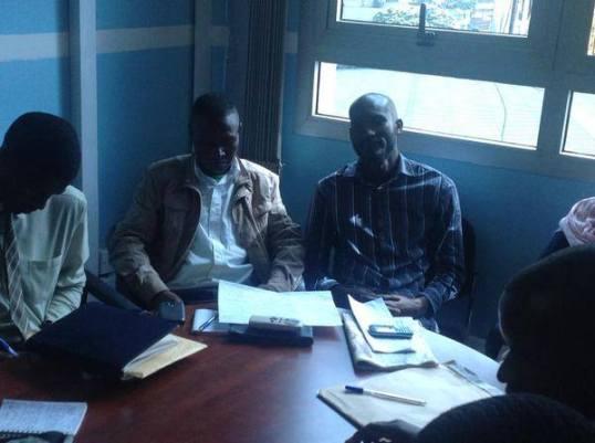 Allan Kitonsa Saava Detained
