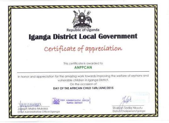 Anppcan Iganga IDLC