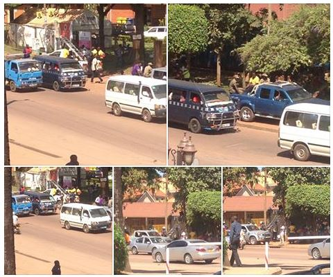 Bugologi, Kampala 06.01.2016 KCCA