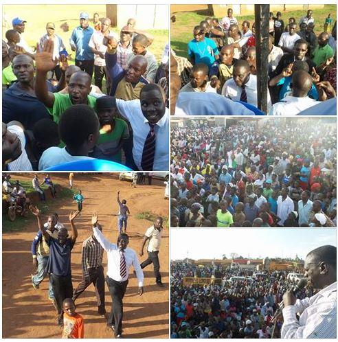 Butambala District 25.01.2016 FDC Campaign Rally