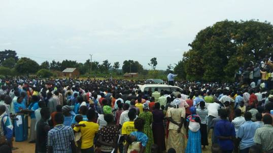 Campaign Rally Eastern Uganda 14.01.2016