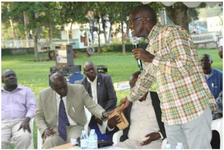 Gen Tukumunde Entebbe Dec 2015 - Money Man for NRM