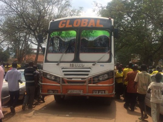 Global NRM Bus Ferrying supporers